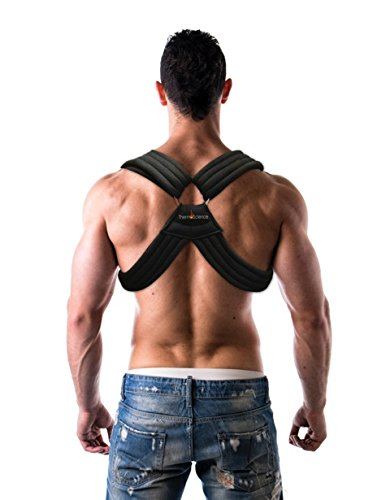 Back Pain Clavicle Posture Support Brace \u2013 Corrects and Helps with Bad Postures Relieves Neck Spine Pains